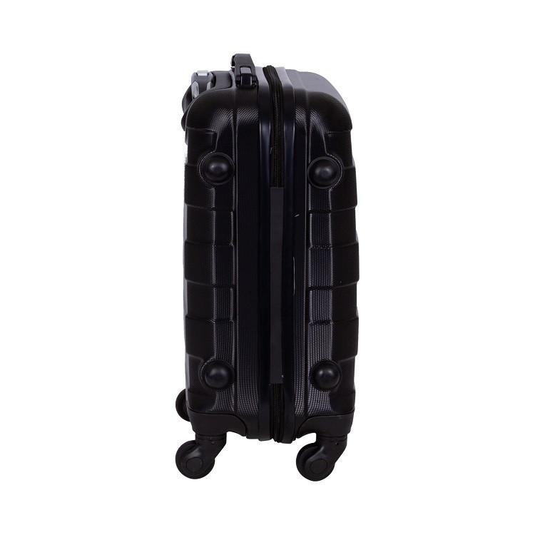 mala-travelux-basel-tamanho-m-preta-detalhe-pés-de-apoio