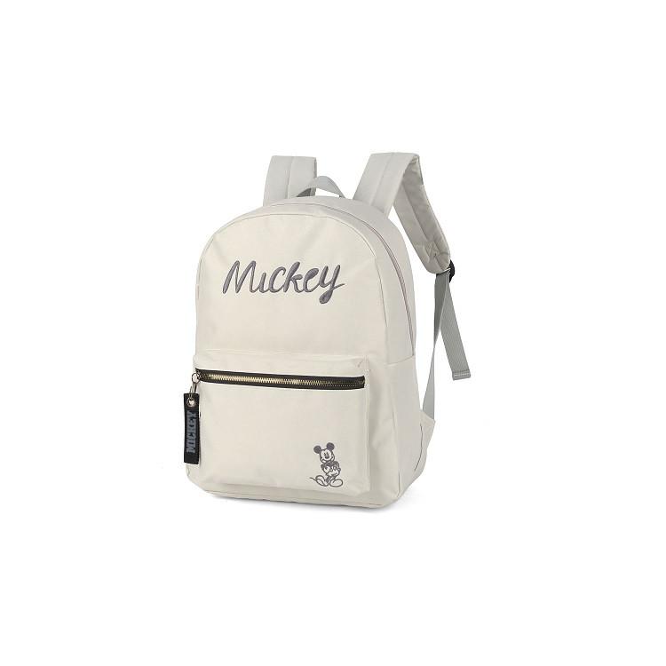 mochila-disney-mickey-mouse-cinza-lateral