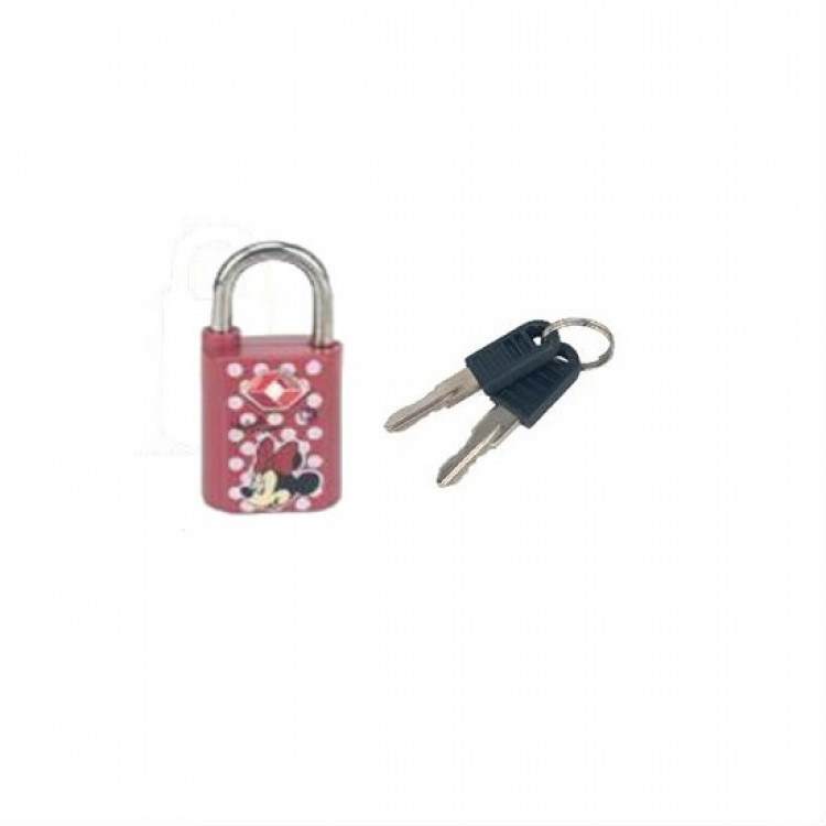 cadeado-disney-minnie-mouse-TSA-com-chave-vermelha