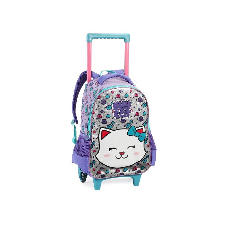 mochila-lilly-cat-DL0960-com-rodas-lilás