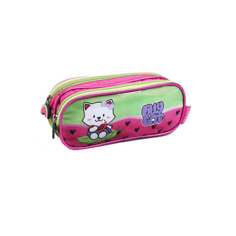 estojo-denlex-lilly-cat-es0602-rosa