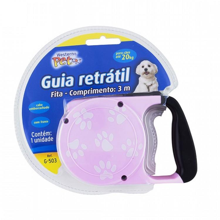 guia-retrátil-para-cães-até-20-kg-3-metros-western-pet-rosa-claro