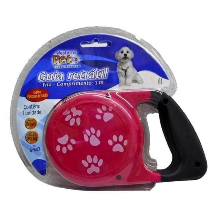 guia-retrátil-para-cães-até-20-kg-3-metros-western-pet-rosa