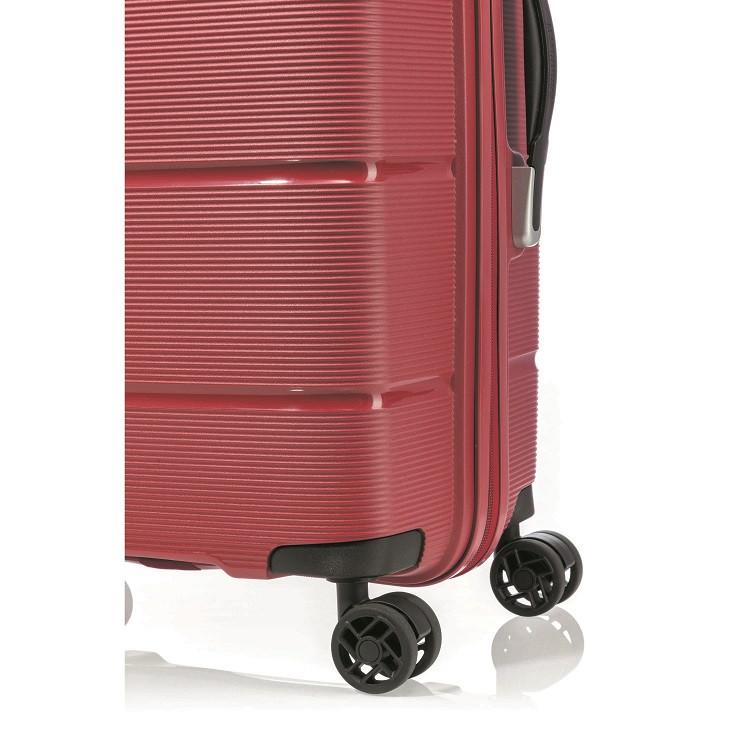 mala-american-tourister-by-samsonite-linex-tamanho-p-vermelha-rodas