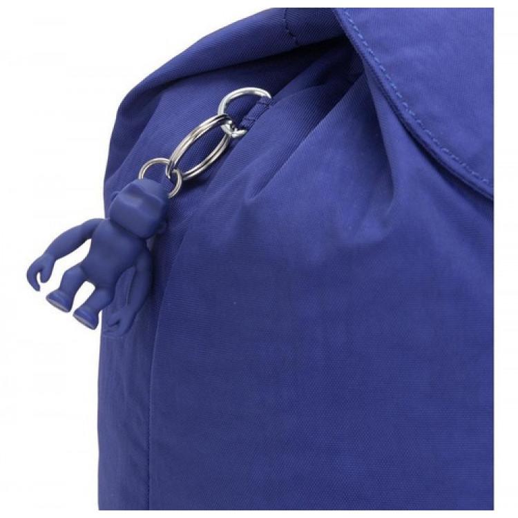 mochila-kipling-fundamental-azul-chaveiro