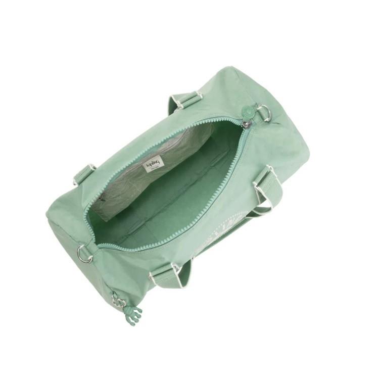 bolsa-kipling-onalo-verde-água-aberta