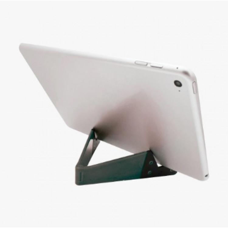 suporte-para-celular-easy-desk-i2go-cinza-escuro-detalhe-no-celular