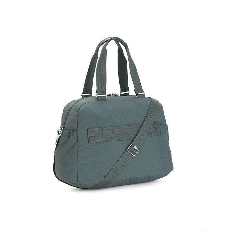sacola-de-viagem-kipling-deny-verde-traseira