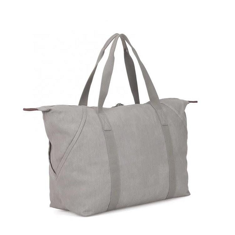 bolsa-de-mão-kipling-art-m-cinza-traseira
