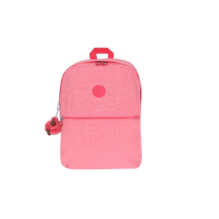 mochila-kipling-emery-rosa-claro