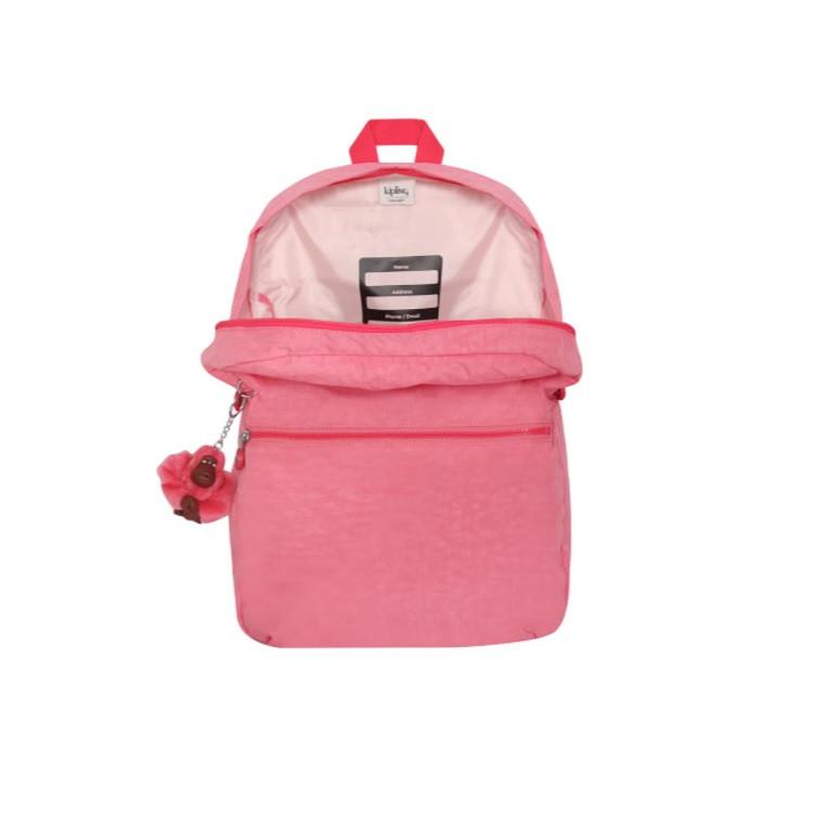 mochila-kipling-emery-rosa-claro-detalhe-aberta