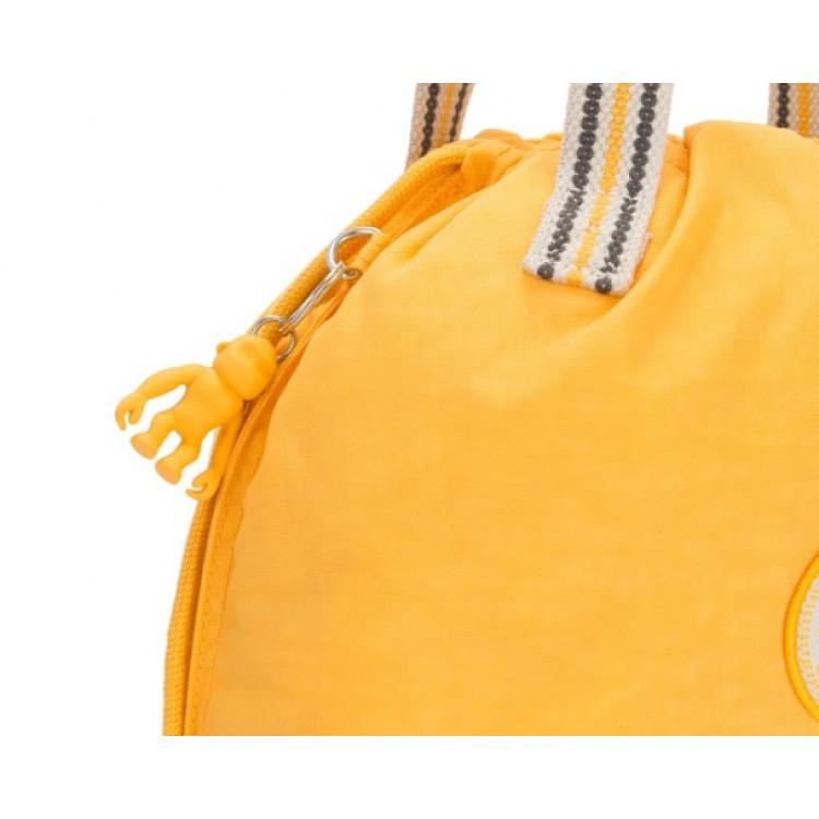 bolsa-kipling-new-hiphurray-amarela-chaveiro