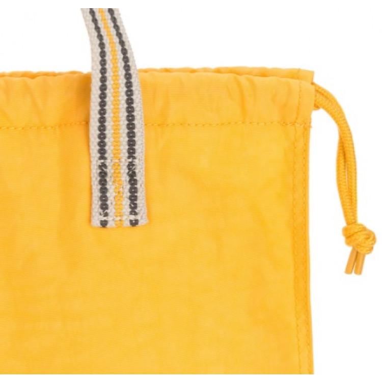 bolsa-kipling-new-hiphurray-amarela-alça-e-cordão
