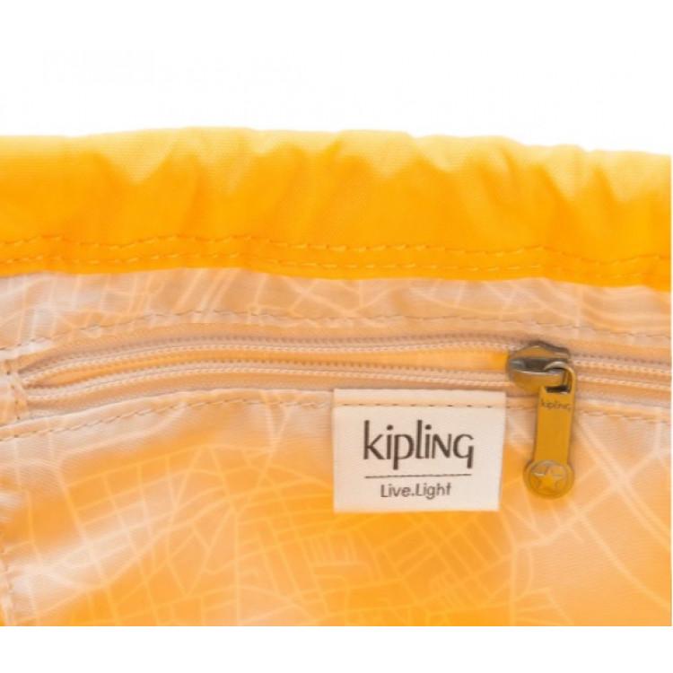 bolsa-kipling-new-hiphurray-amarela-bolso-interno