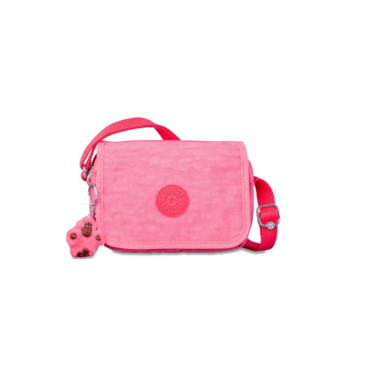 bolsa-transversal-kipling-ikene-rosa-claro