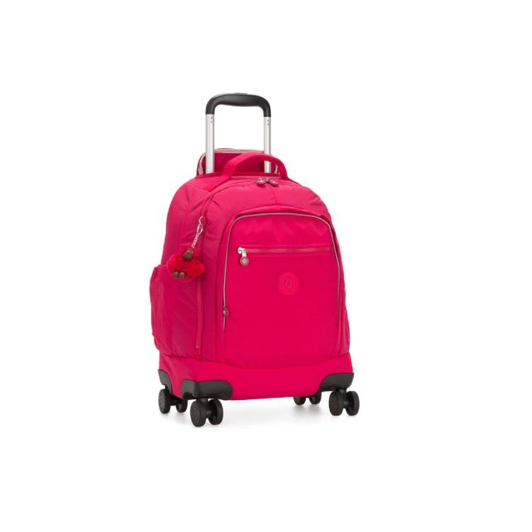 mochila-com-rodinhas-kipling-zea-pink-detalhe-lateral
