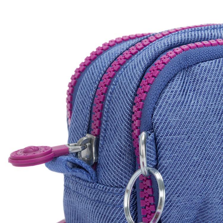 estojo-kipling-gitroy-azul-jeans-zíper