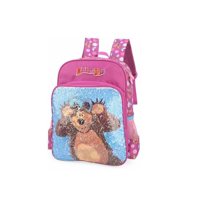 mochila-polo-king-masha-e-o-urso-rosa-detalhe-imagem-do-urso