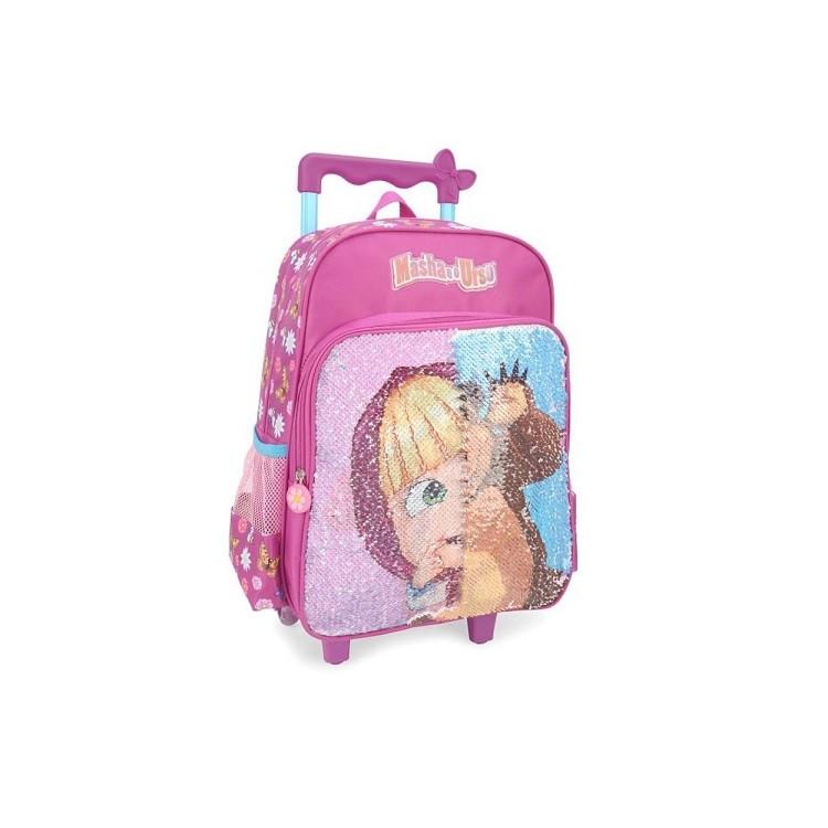 mochila-polo-king-masha-e-o-urso-com-rodas-rosa-detalhe-efeito-de-paete
