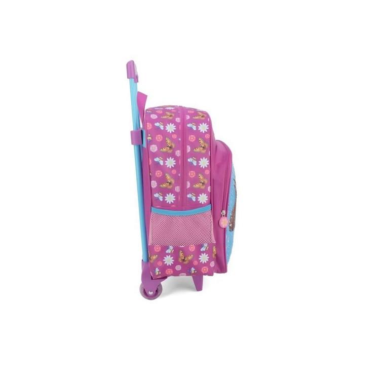 mochila-polo-king-masha-e-o-urso-com-rodas-rosa-detalhe-lateral