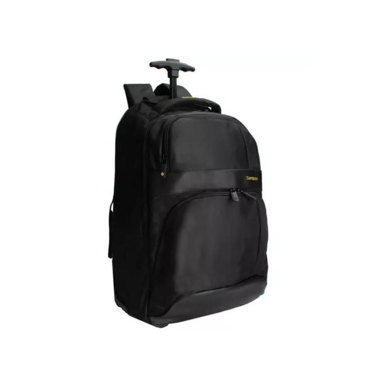 mochila-samsonite-com-rodas-para-notebook-preta-e-amarela-lateral