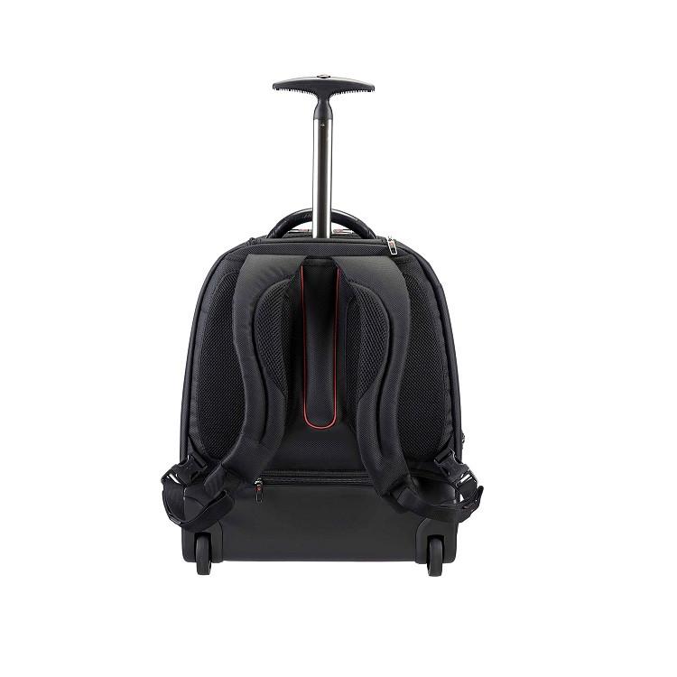 mochila-samsonite-para-notebook-business-pro-dlx-IIII-com-rodas-detalhe-traseira