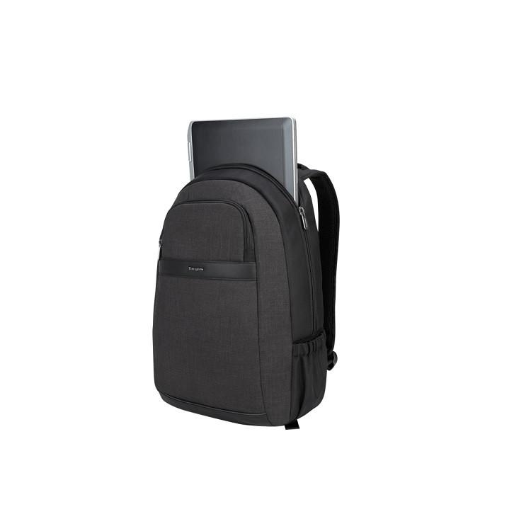 mochila-targus-city-smart-para-notebook-cinza-detalhe-compartimento-notebook