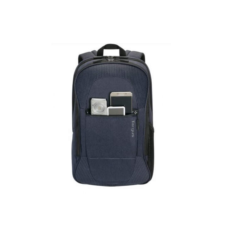 mochila-targus-commuter-para-notebook-azul-detalhe-bolso-frontal