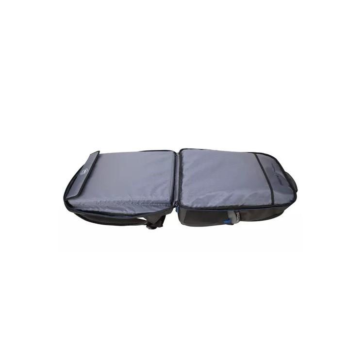 mochila-targus-para-notebook-drifter-trek-preta-detalhe-compartimento-de-notebook-aberto