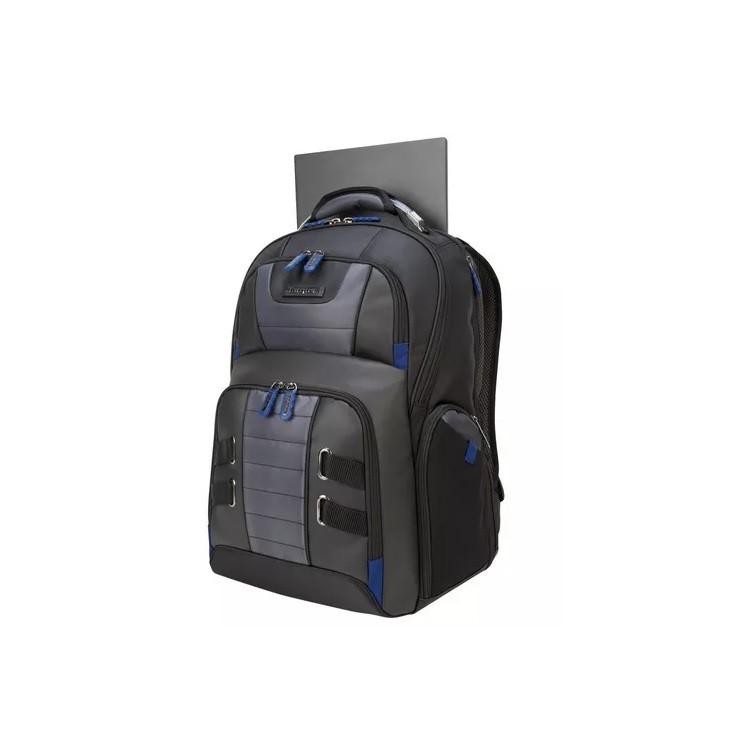 mochila-targus-para-notebook-drifter-trek-preta-detalhe-compartimento-de-notebook