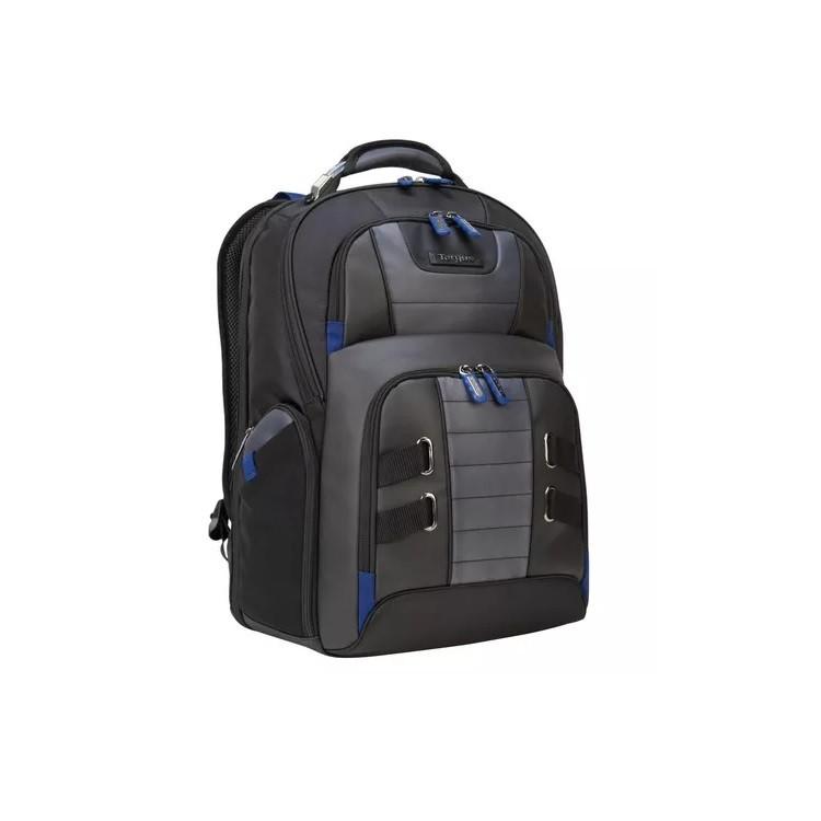 mochila-targus-para-notebook-drifter-trek-preta-detalhe-lateral