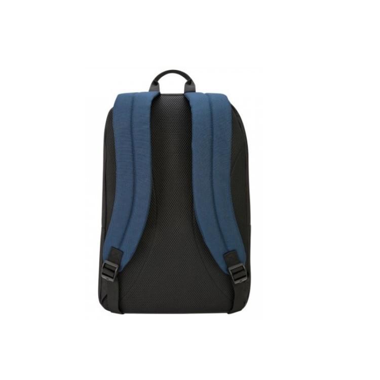 mochila-targus-essential-2-para-notebook-preta-e-azul-detalhe-traseira