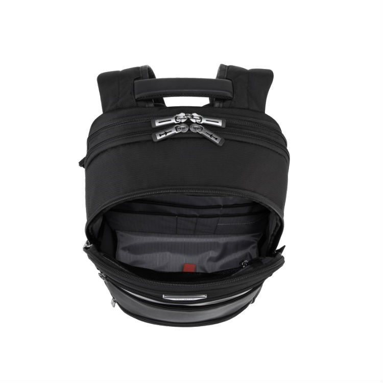 mochila-targus-para-notebook-mobile-vip-preta-detalhe-compartimento-frontal