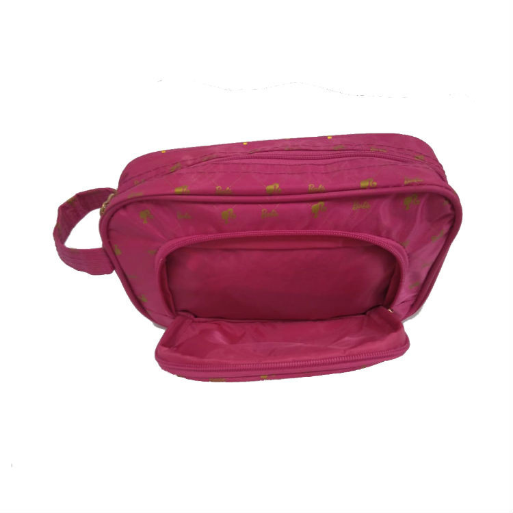 necessaire-polo-king-barbie-NC14416BB-pink-detalhe-bolso-frontal