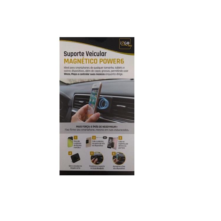 suporte-veicular-i2go-magnético-pro-preto-detalhe-descrição-da-embalagem