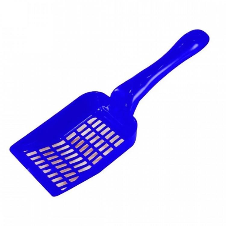 pá-higiênica-para-caixa-de-areia-de-gatos-western-pet-azul