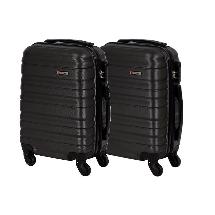 kit-mala-de-bordo-travelux-geneva-duas-peças-cinza-escuro