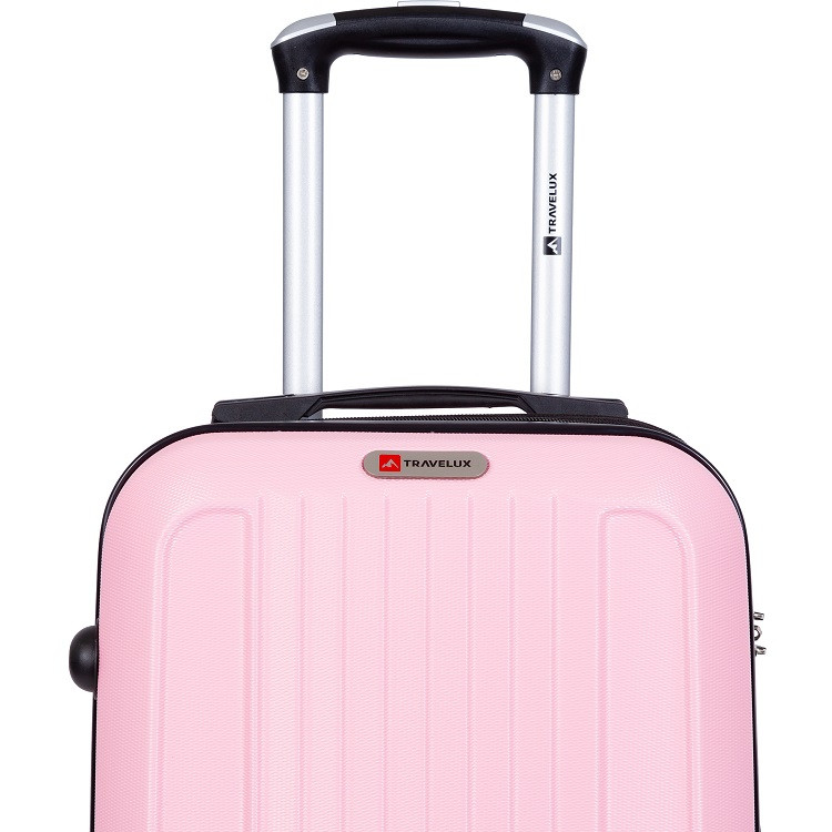 mala-travelux-st-moritz-tamanho-p-rosa-claro-detalhe-logo-puxador