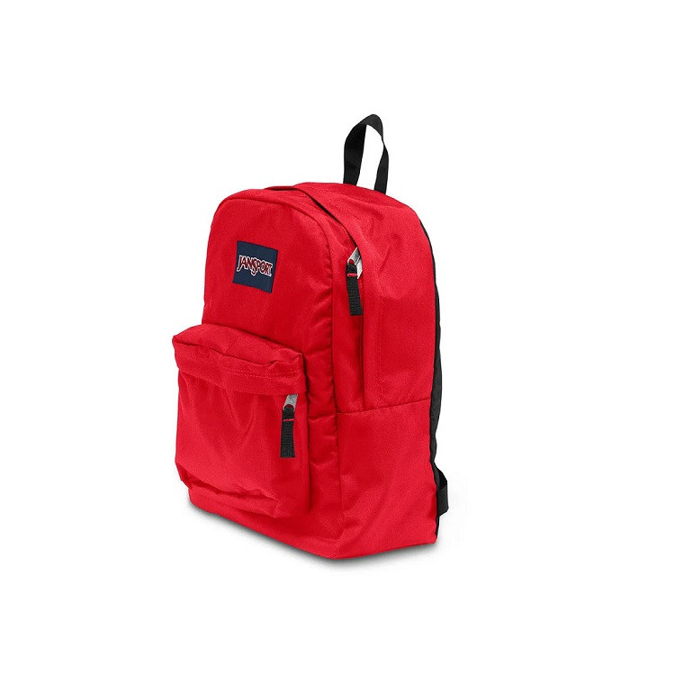 mochila-jansport-superbreak-vermelha-lateral