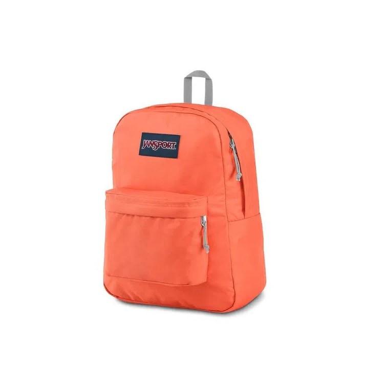 mochila-jansport-superbreak-laranja-lateral