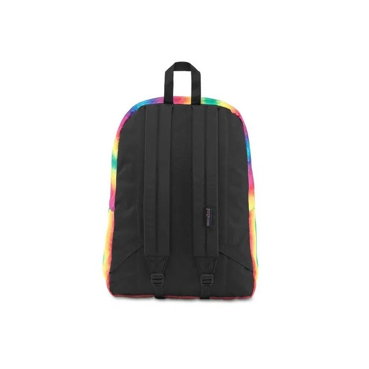 mochila-jansport-superbreak-rainbow-sparkle-traseira