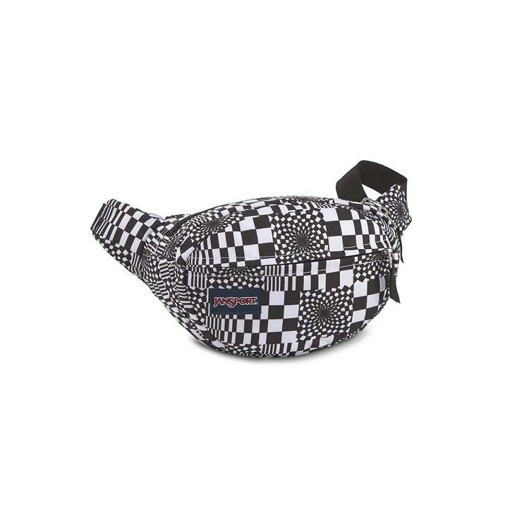 pochete-jansport-fifth-avenue-distorted-checkerboard-lateral