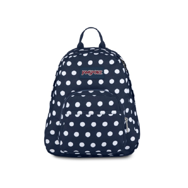 mini-mochila-jansport-half-pint-dark-denin-polka-dot