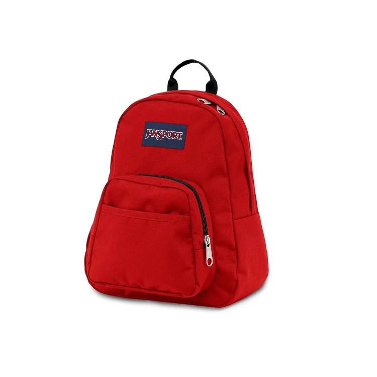 mini-mochila-jansport-half-pint-vermelha-lateral