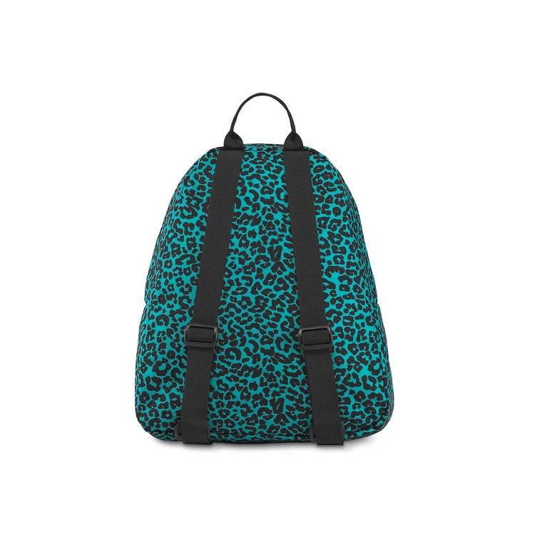 mini-mochila-jansport-half-pint-peacock-blue-leopard-life-traseira