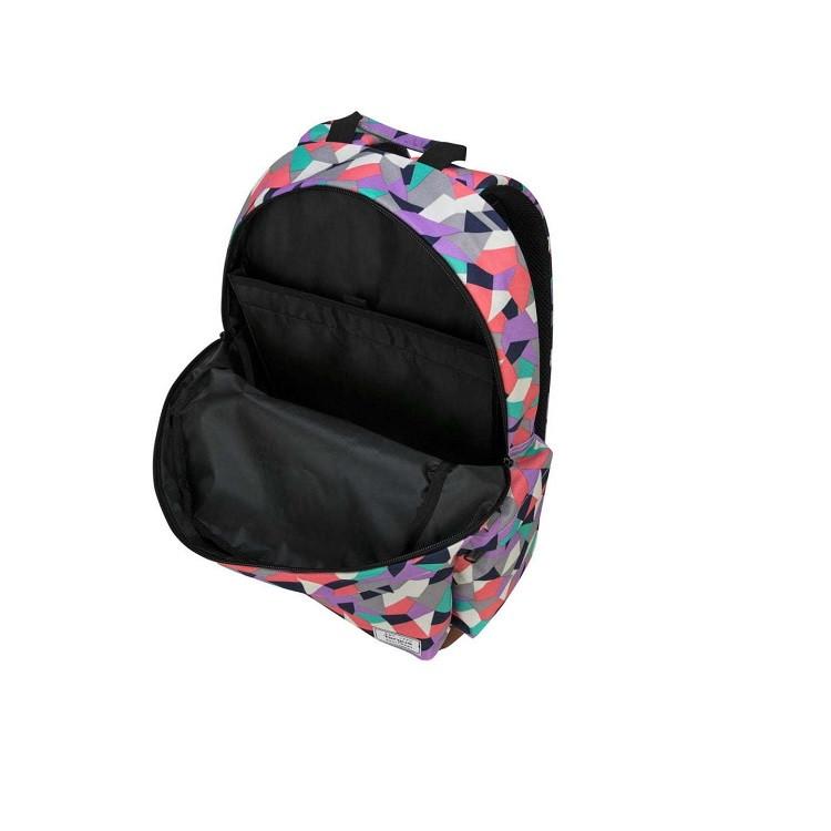 mochila-targus-strata-II-para-notebook-lilás-detalhe-compartimento-interno