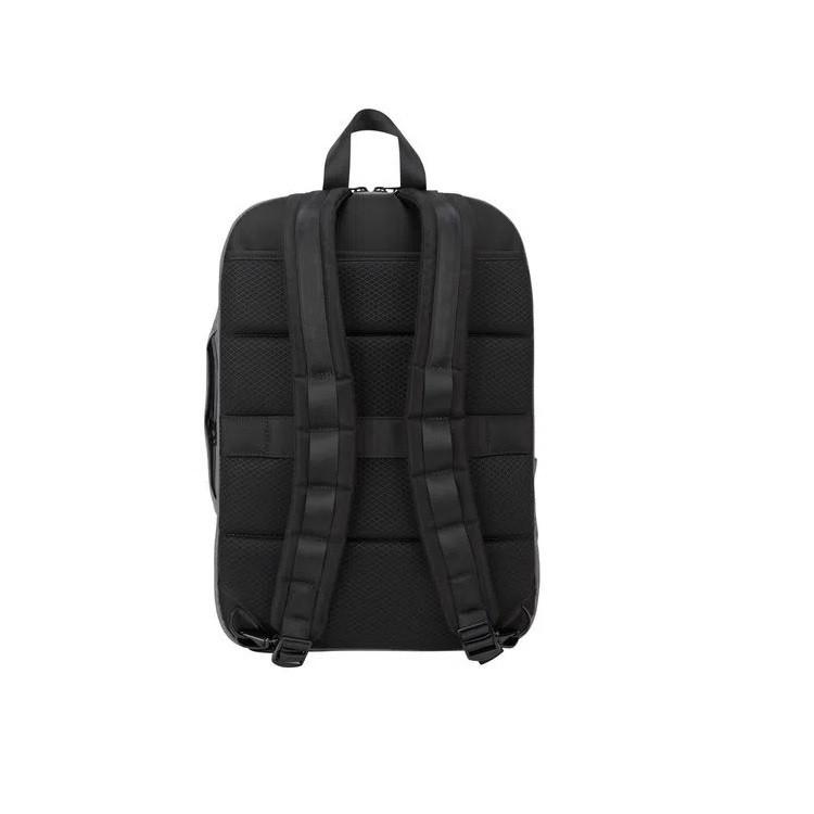 mochila-targus-citylite-pro-compact-conversivel-cinza-alças-de-costas