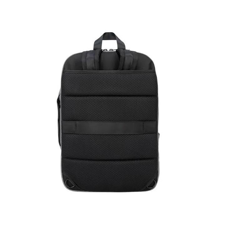 mochila-targus-citylite-pro-compact-conversivel-cinza-alças-de-costas-guardados
