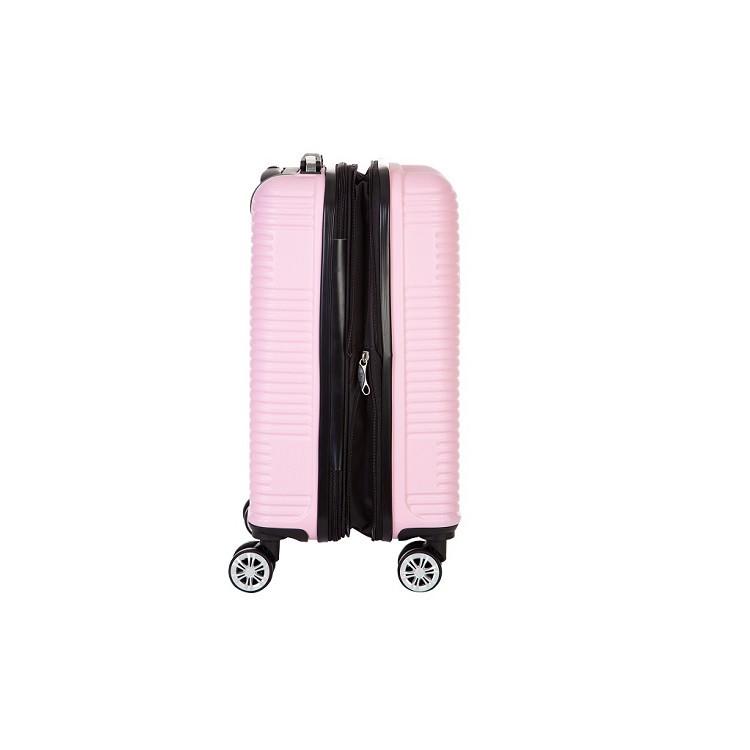 mala-travelux-davos-tamanho-p-rosa-claro-detalhe-lateral