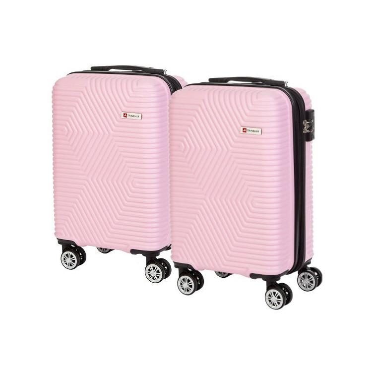 kit-mala-de-bordo-travelux-davos-com-duas-peças-rosa-claro